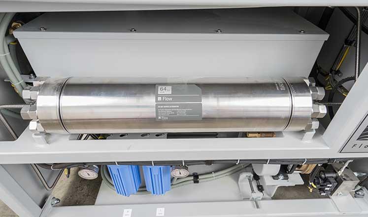 druck bersetzer hochdruckpumpe wasserstrahl 4150 bar flow waterjet. Black Bedroom Furniture Sets. Home Design Ideas